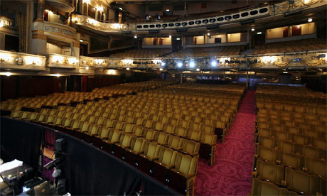 The Theatre Royal awaits it's next audience. Photo: David Levene for The Guardian