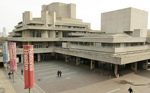 The Royal National Theatre on the London's South Bank